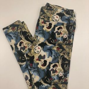 Unicorn Lularoe Disney Leggings TC Snow White
